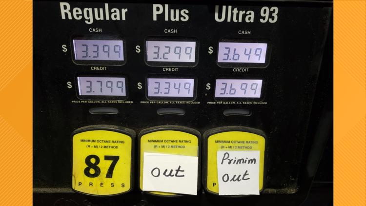 GasBuddy: 88% of DC gas stations are out of gas