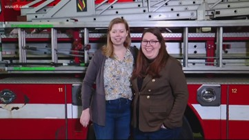 Woman helps honor first responders, bystanders who brought her back to life at Metro stop