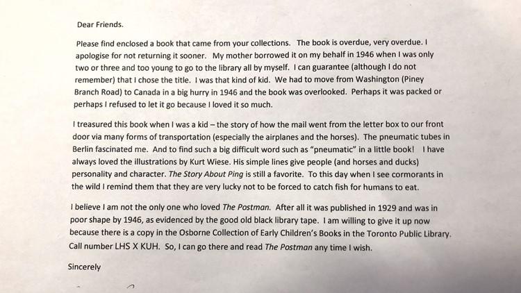 Mora Gregg's Letter