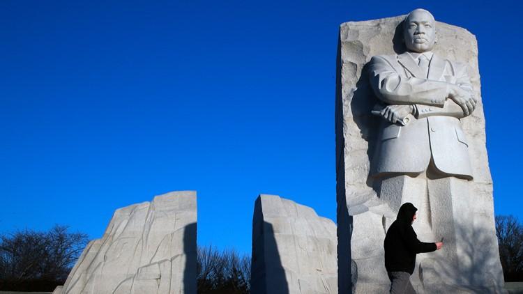 MLK Memorial celebrates 10th anniversary at National Mall