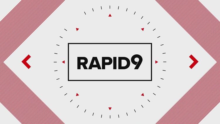 Rapid 9: Washington Football's QB Taylor Heinicke gets candid with Sharla McBride