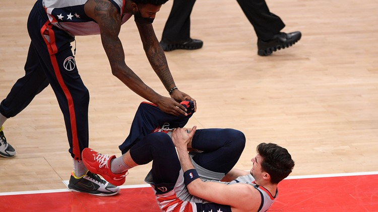 Report: Wizards rookie Avdija out for the season with hairline fracture