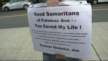 Man thanks Good Samaritan who saved his life after heart attack during car crash