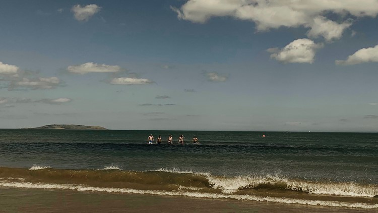 Four brothers rescue 6 year old girl off Postnarmack Beach, Ireland