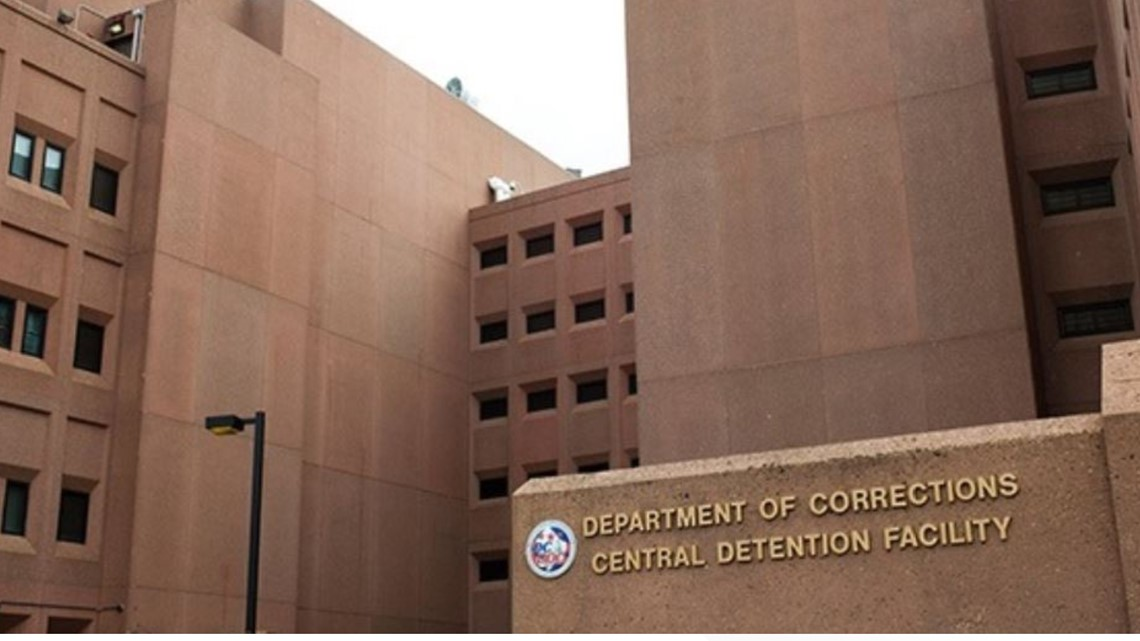 DOC: 8 more inmates test positive for COVID-19 at DC detention facility