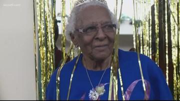 'The longer I live, the more beautiful I become'   Woodbridge woman turns 100