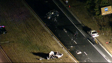 Lanes reopen on Baltimore-Washington Parkway after deadly crash