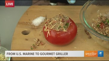 Check out these stuffed tomato sides for your next barbecue