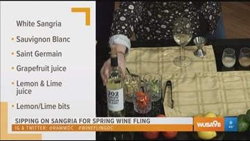 Spring Wine Fling: Celebrating spring with sangrias in DC
