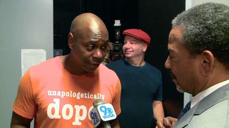 Dave Chappelle talks to Bruce Johnson