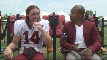 Rapid 9 with the Redskins' Trey Quinn