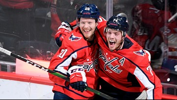 Caps shock the Sharks in thrilling OT win, 5-4