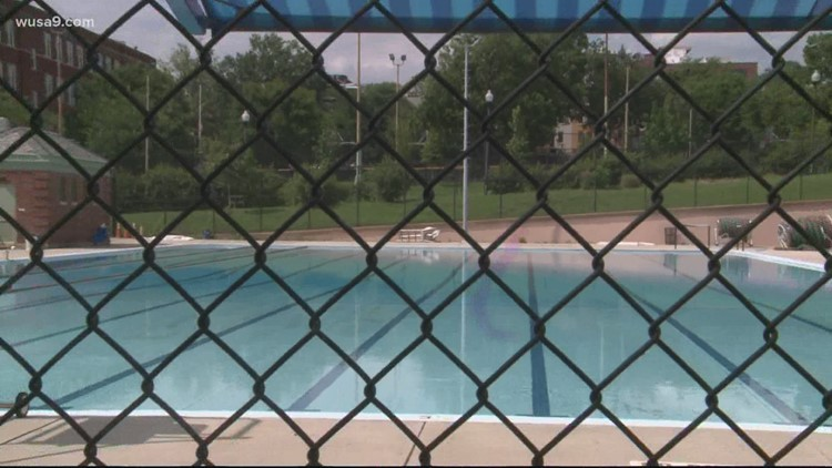 DC pools and spray pads will remain closed for the rest of the summer