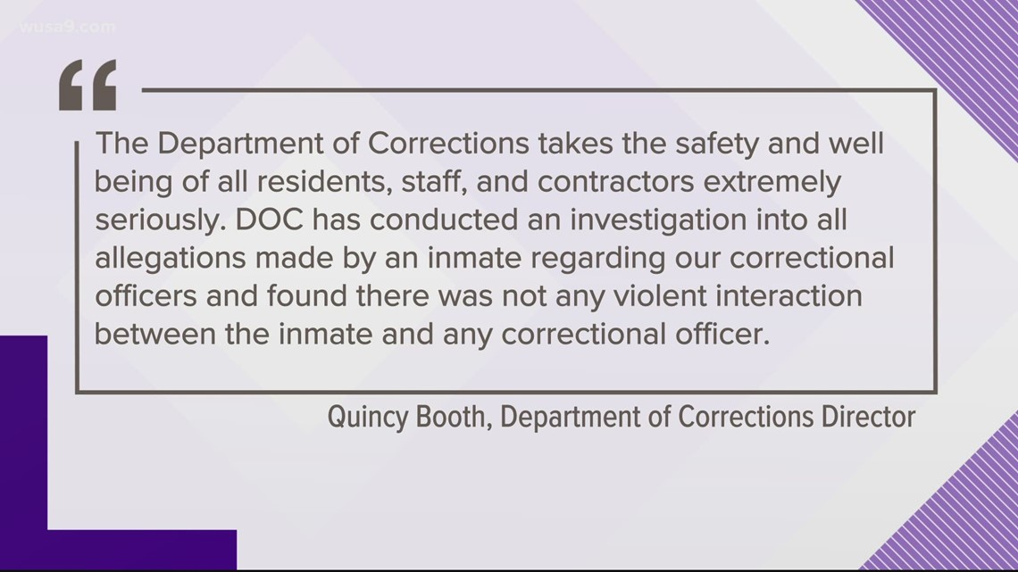 DC Department of Corrections denies Capitol rioter's claim of being beaten