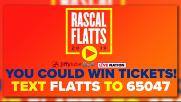 Win tickets to see Rascal Flatts at Jiffy Lube Live