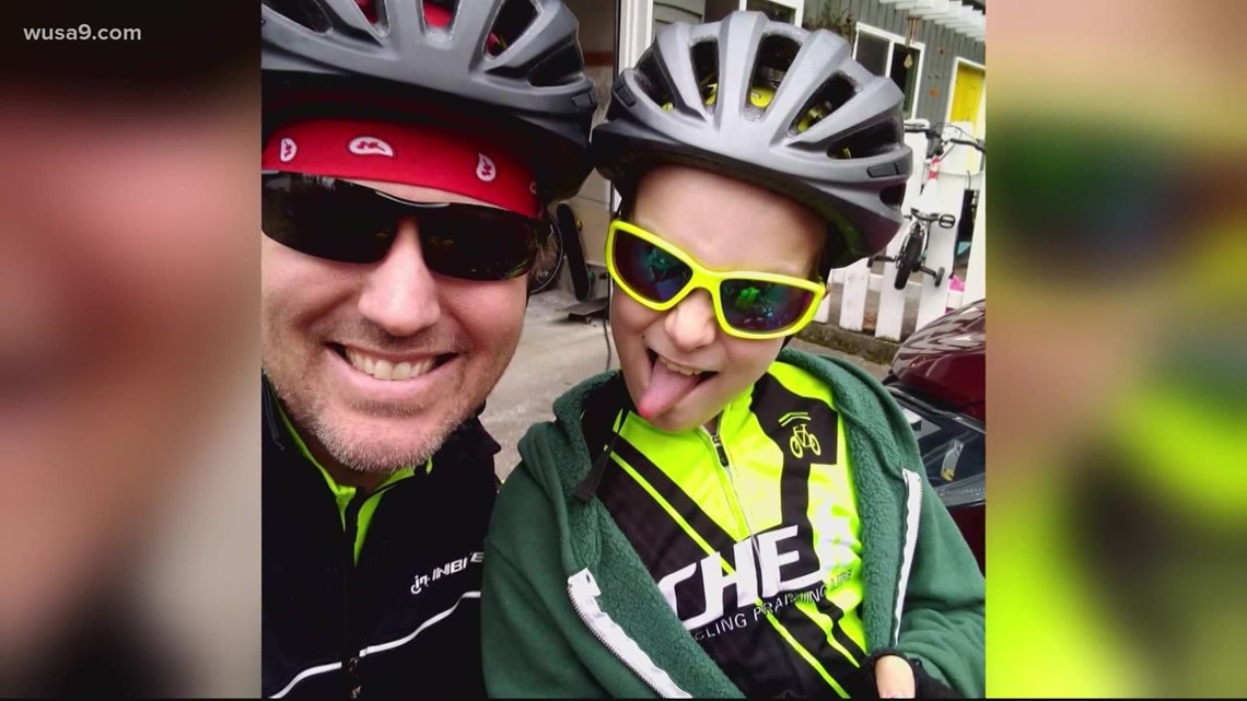 A Father and son are biking across the country together | Get Uplifted