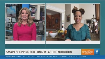 Smart shopping for longer lasting nutrition