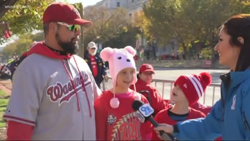 Fans take in everything that is the first ever Washington Nationals victory parade