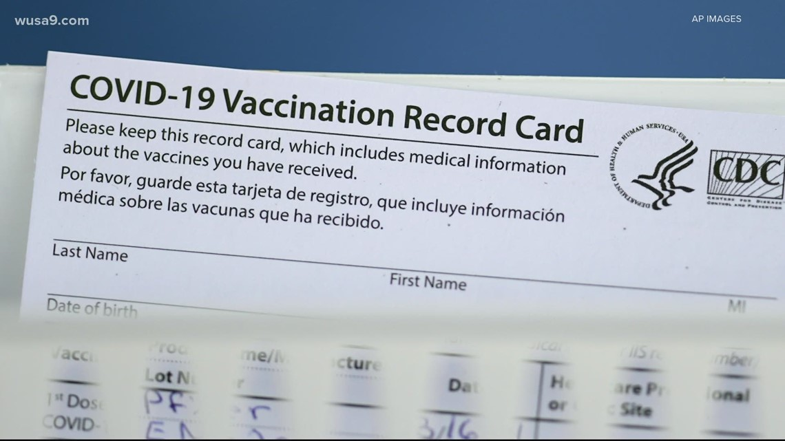 How to spot a fake COVID-19 vaccine card