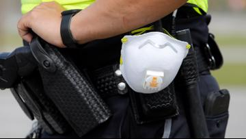 Personal protective gear being rationed within police departments