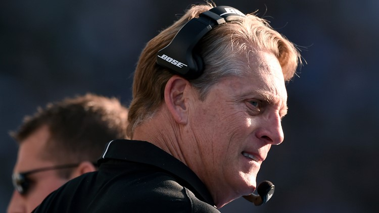 Who is Jack Del Rio?   He may become temporary head coach for Washington due to Rivera's fight with cancer