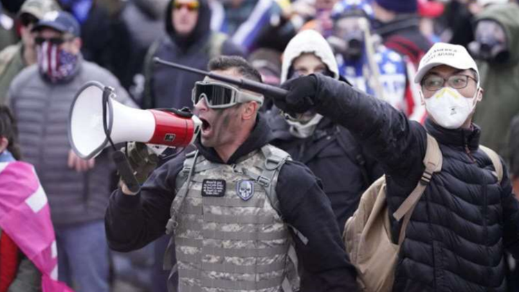 Pennsylvania man who bragged he 'maced' police during Capitol riot now facing multiple felonies