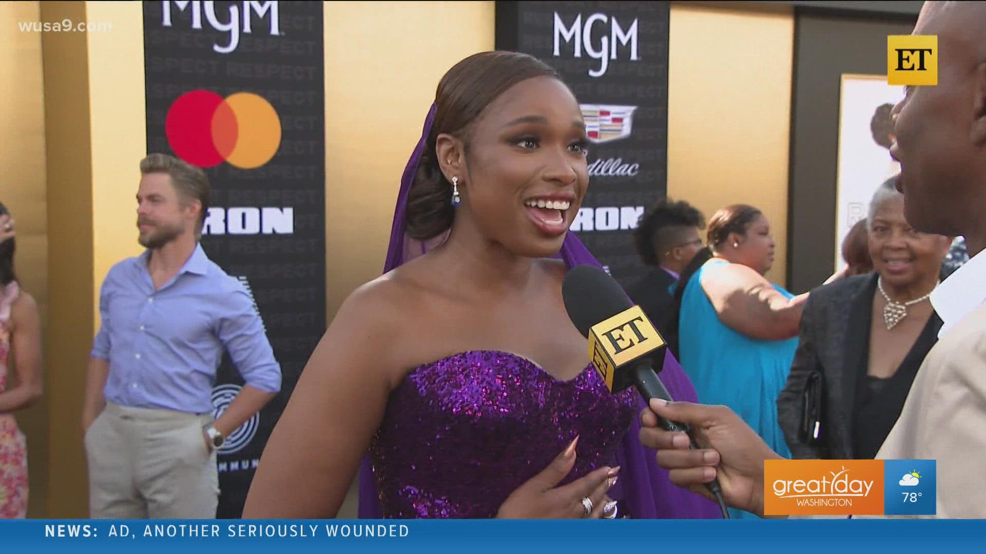 Academy Award winning actress Jennifer Hudson shares her excitement for the new movie