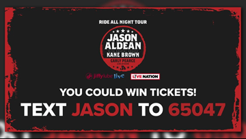 Win tickets to see Jason Aldean at Jiffy Lube Live