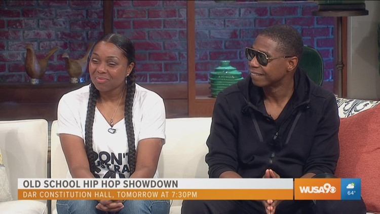"Rappers Doug E. Fresh and Nonchalant ""do the Dougie"" with Great Day Washington"