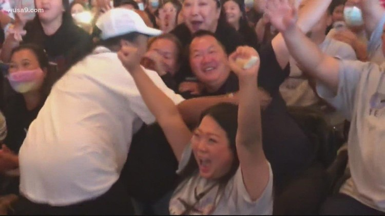 Suni Lee's family reacts to Olympic performance | Get Uplifted