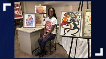 Maryland artist sends paintings to Parkland parents on anniversary