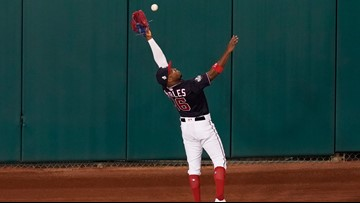 Some are comparing Victor Robles' catch to Willie Mays. Probably a stretch, but it was pretty great.