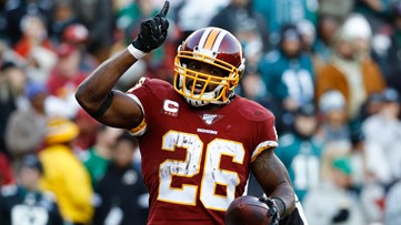 Redskins Adrian Peterson spends birthday helping coronavirus victims by donating $100K