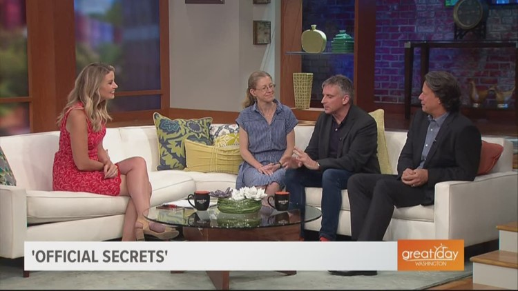 Morning chat with the real-life subjects of the new spy drama, 'Official Secrets'