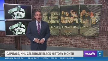 Capitals, NHL celebrate Black History Month