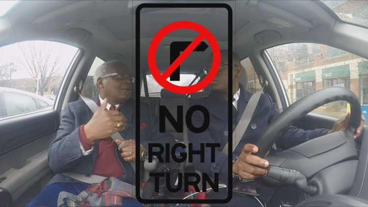 no turn on red DC