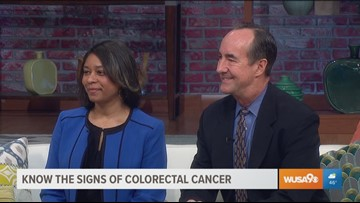 Colorectal cancer awareness month with the American Cancer Society