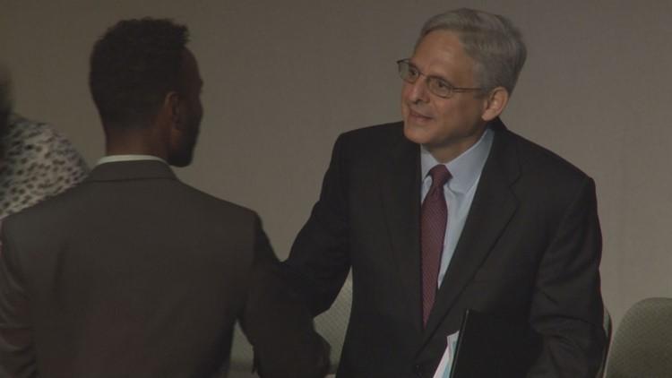 Judge Merrick Garland has been tutoring 2nd graders at Northeast DC elementary school for 21 years