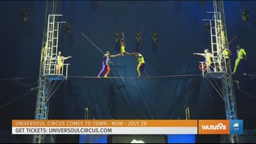 Come one, come all to the UniverSoul Circus