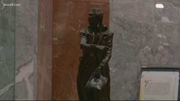 DC will now have two statues in Capitol building, just like the 50 states do
