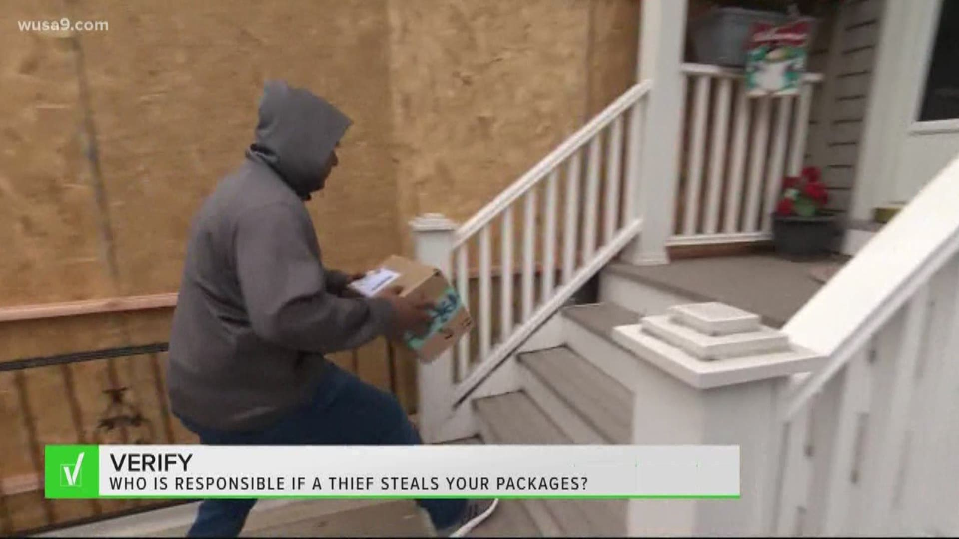 Who Is Responsible For Package Theft Wusa9 Com