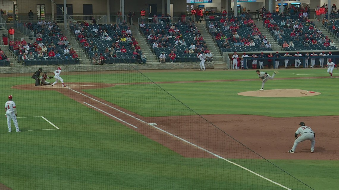 Nats affiliate welcomes fans to new ballpark after year-long delay