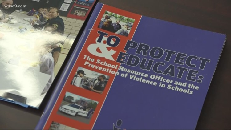 Montgomery County considers modifying police presence in schools