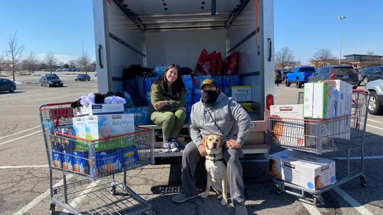 'Let's rally the troops' | Northern Virginia veterans organize donation effort for Texas after deadly winter storm