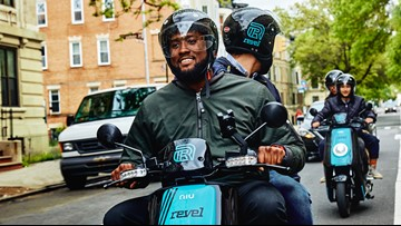 Moped rental via app launches in DC, with one minor incident