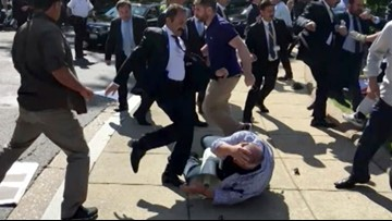 Turkish bodyguards kicked him to the point of brain damage. Now he's furious President Erdogan is coming back to DC