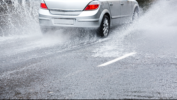 Here's how low tire pressure can increase chances of hydroplaning