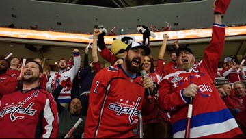 Defending champion Capitals are a hot ticket