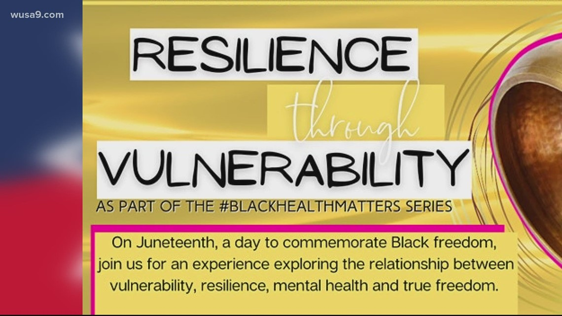 Spend Juneteenth focusing on your mental health