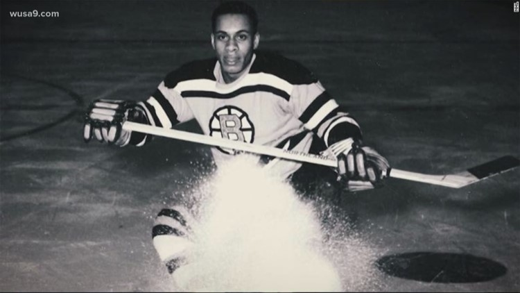 National Museum of African American History and Culture has a new exhibit honoring Black hockey players